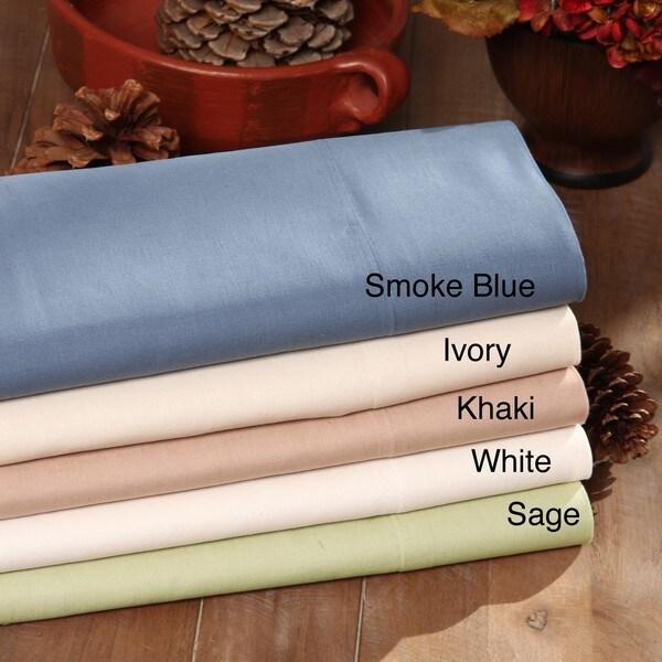 Welspun Premium Cotton Linen King and Cal King Sheet Set