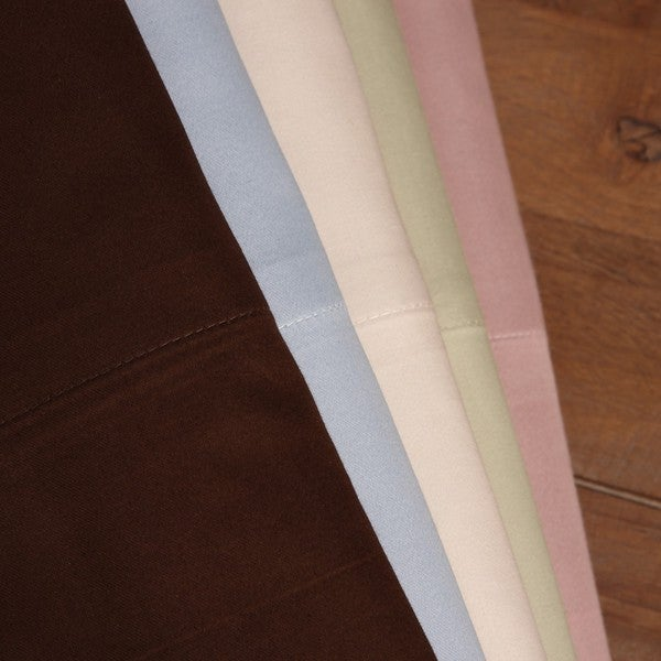Welspun Cotton Silk Luxury Blend Flexfit Deep Full/ Queen- size Pocket Sheet Set