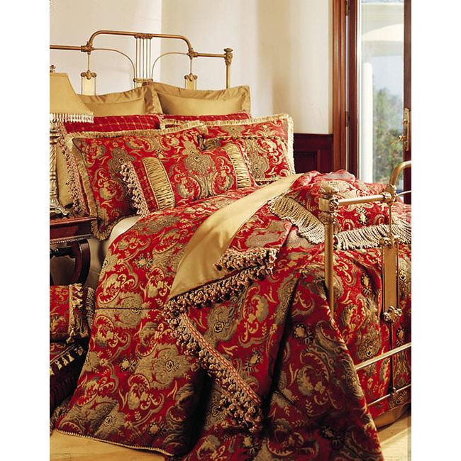Sherry Kline China Art Red 6-piece Comforter Set