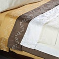 Grand Luxe Egyptian Cotton 800 TC Scroll Pillowcases (Set of 2)