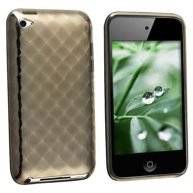 Smoke Diamond TPU Case for Apple iPod touch 4th Gen