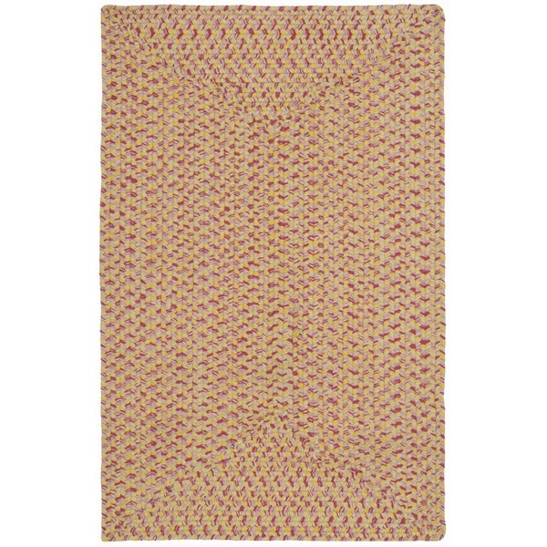 Safavieh Hand-woven Reversible Red/ Green Braided Rug - 2'6 x 4'