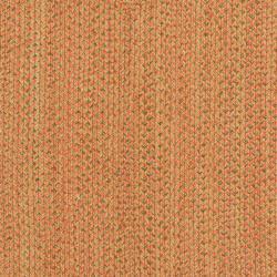 Safavieh Hand-woven Reversible Peach/ Green Braided Rug (2'6 x 4') - Thumbnail 1
