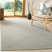 Safavieh Hand-woven Reversible Grey/ Multi Braided Rug - 4' x 6'