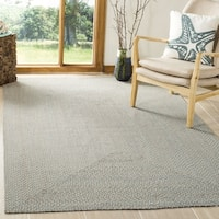 Safavieh Hand-woven Reversible Grey/ Multi Braided Rug - 6'