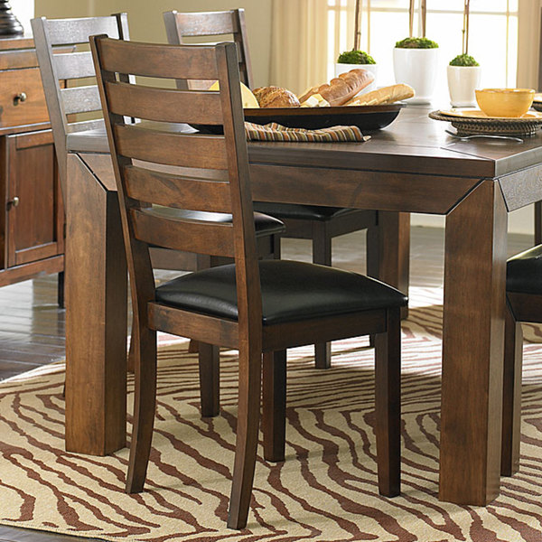 Luke Brown Dining Chairs by TRIBECCA HOME (Set of 2)