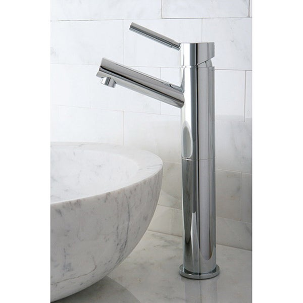 Bathroom Faucets Chrome : Vessel Chrome Bathroom Faucet - Free Shipping Today - Overstock.com ...