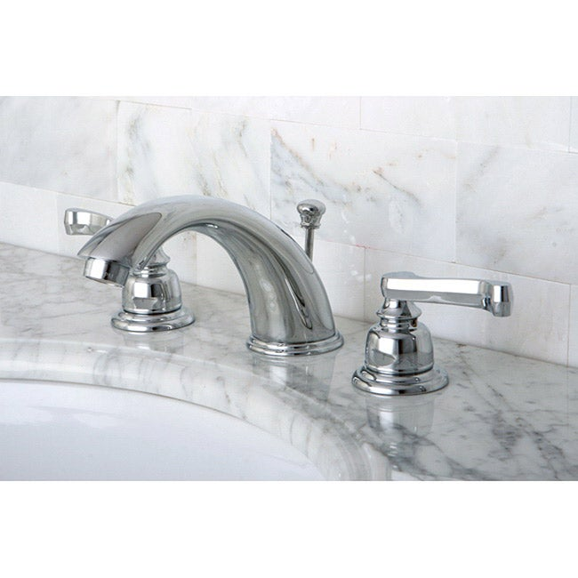 French Handles Chrome Widespread Bathroom Faucet - Free Shipping Today ...