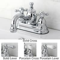 Heritage 4-inch Centerset Chrome Bathroom Faucet