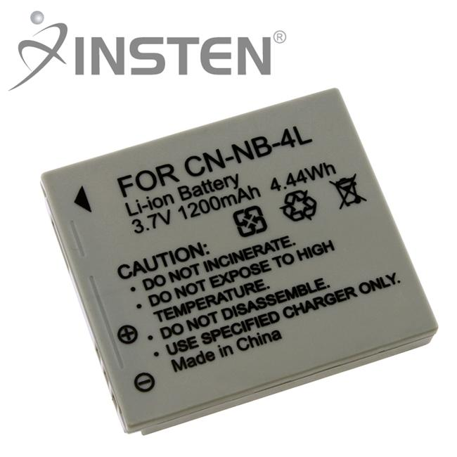 Insten Li Ion Battery For Canon Nb 4l Free Shipping On