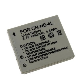 Link to INSTEN Li-ion Battery for Canon NB-4L Similar Items in Camera Accessories