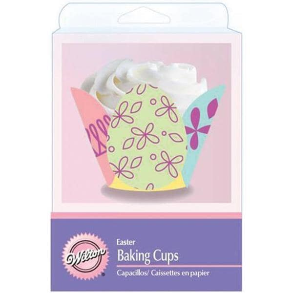 Wilton 'Decorated Egg' Baking Cups (Pack of 24)
