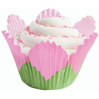 Wilton 'Petal Pink' Baking Cups (Pack of 24)