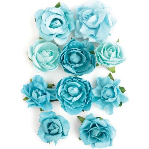 Sea Breeze Paper Blooms