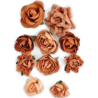 Terracotta Paper Blooms