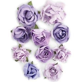 Amethyst Paper Blooms
