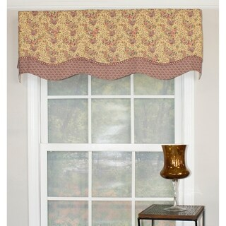 RLF Home Lavender Days Glory Window Valance