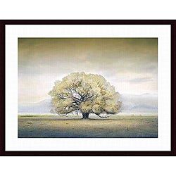 William Vanscoy 'You Knew Me When' Wood-framed Art Print