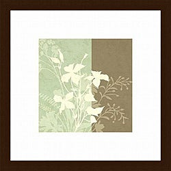 Paula Scaletta 'Spring Dream II' Wood-framed Art Print