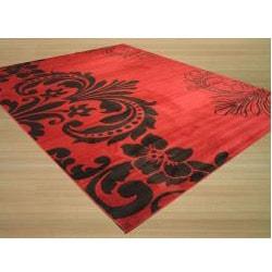 EORC Red Sofia Rug (5'3 x 7'3)