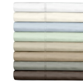 Veratex Egyptian Cotton 500 Thread Count Sateen Solid Sheet Set