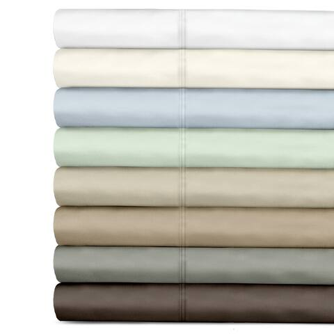 Grand Luxe Egyptian Cotton Sateen 500 Thread Count Deep Pocket Bed Sheet Set or Pillowcases