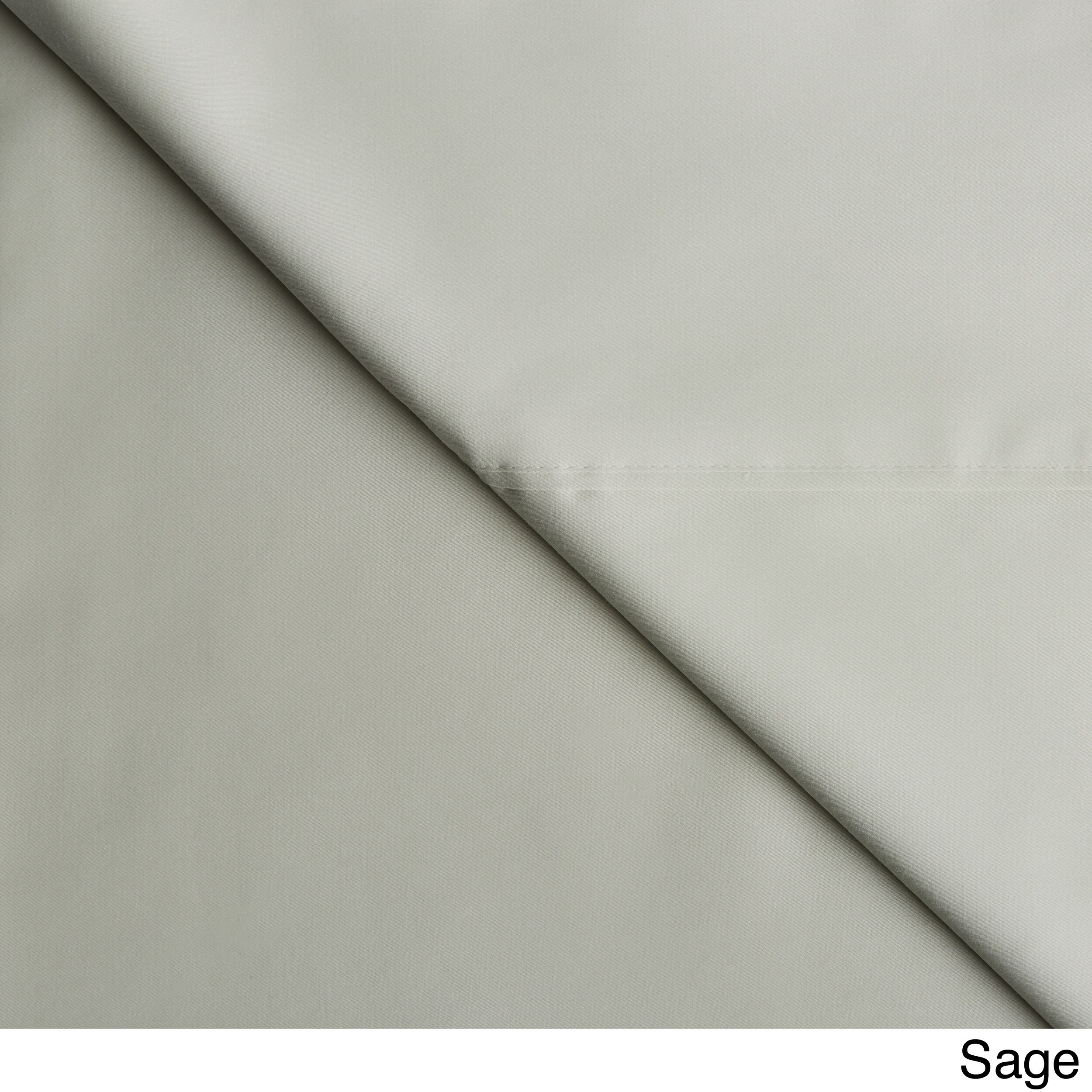 Grand Luxe Egyptian Cotton Sateen 300 Thread Count Solid ...