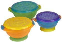 Munchkin Stay-Put Suction Bowls (Pack of 3) - Thumbnail 1