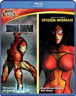 Marvel Knights: Iron Man & Spider Woman (Blu-ray Disc)