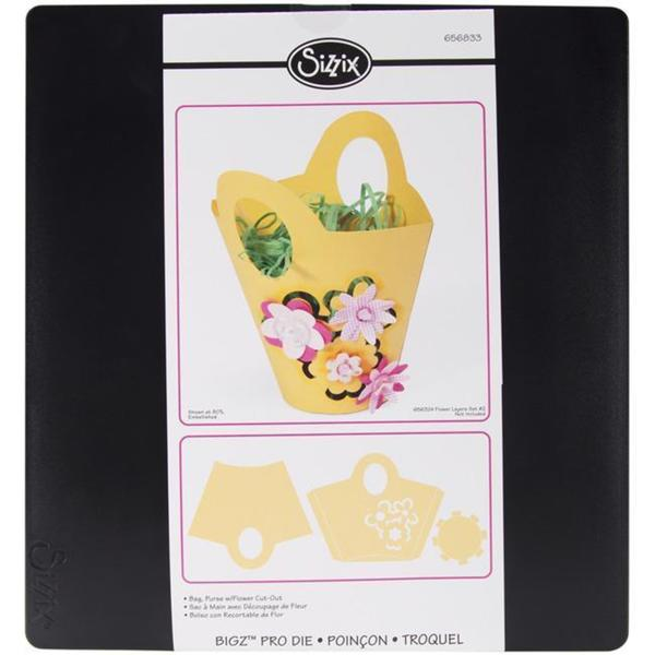 Sizzix Bigz Big Shot Pro Die - Purse With Flower Bag