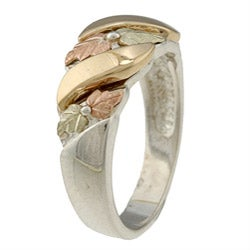 Black Hills Gold and Silver Unisex Ring - Thumbnail 1