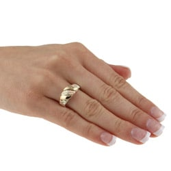 Black Hills Gold and Silver Unisex Ring - Thumbnail 2