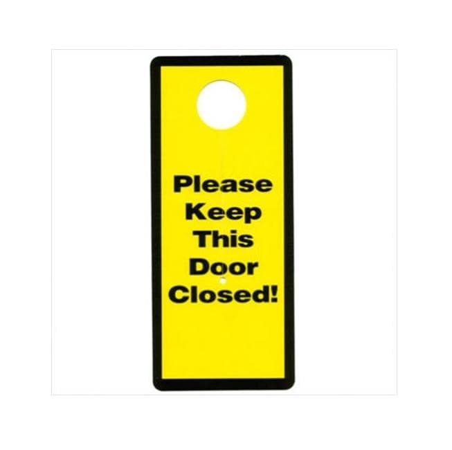 Shop Garage And Basement Door Safety Sign Free Shipping