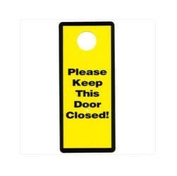 Garage and Basement Door Safety Sign