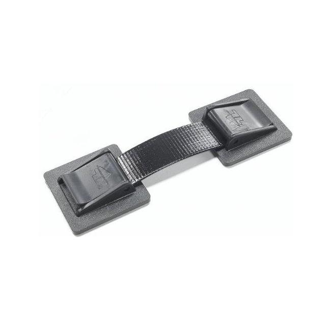 Black Anti-slip Appliance Strap and Locks (Pack of 2)
