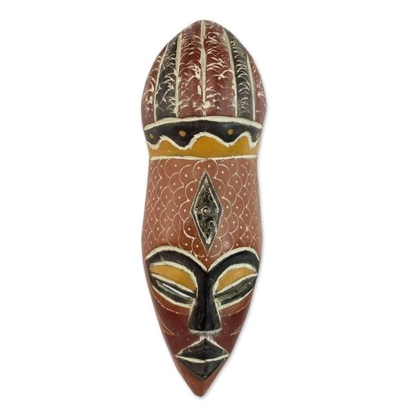 Shop Handmade Wood 'God's Gifts' African Mask (Ghana