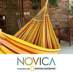 Ultra Large Cotton Ocean Waves Hammock Mexico