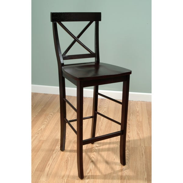 Simple Living Easton Crossback 30-inch Barstool