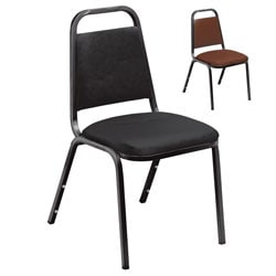 Standard Vinyl-upholstered Stacking Chairs (Case of 40)
