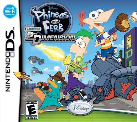Nintendo DS - Phineas and Ferb: Across the 2nd Dimension