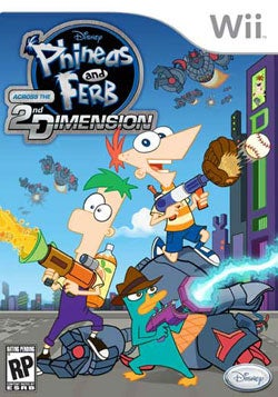 Wii - Phineas & Ferb: Across The 2nd Dimension
