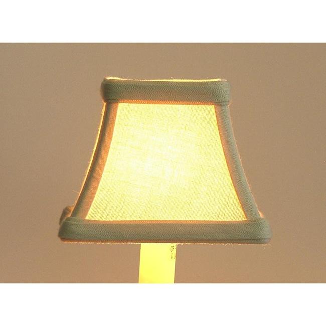 Cream Linen Chandelier Mini Shades (Set of 3)