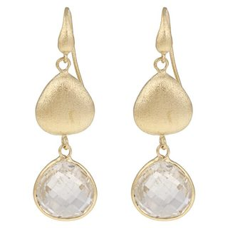 Rivka Friedman Women's Goldplated Crystal Dangle Earrings