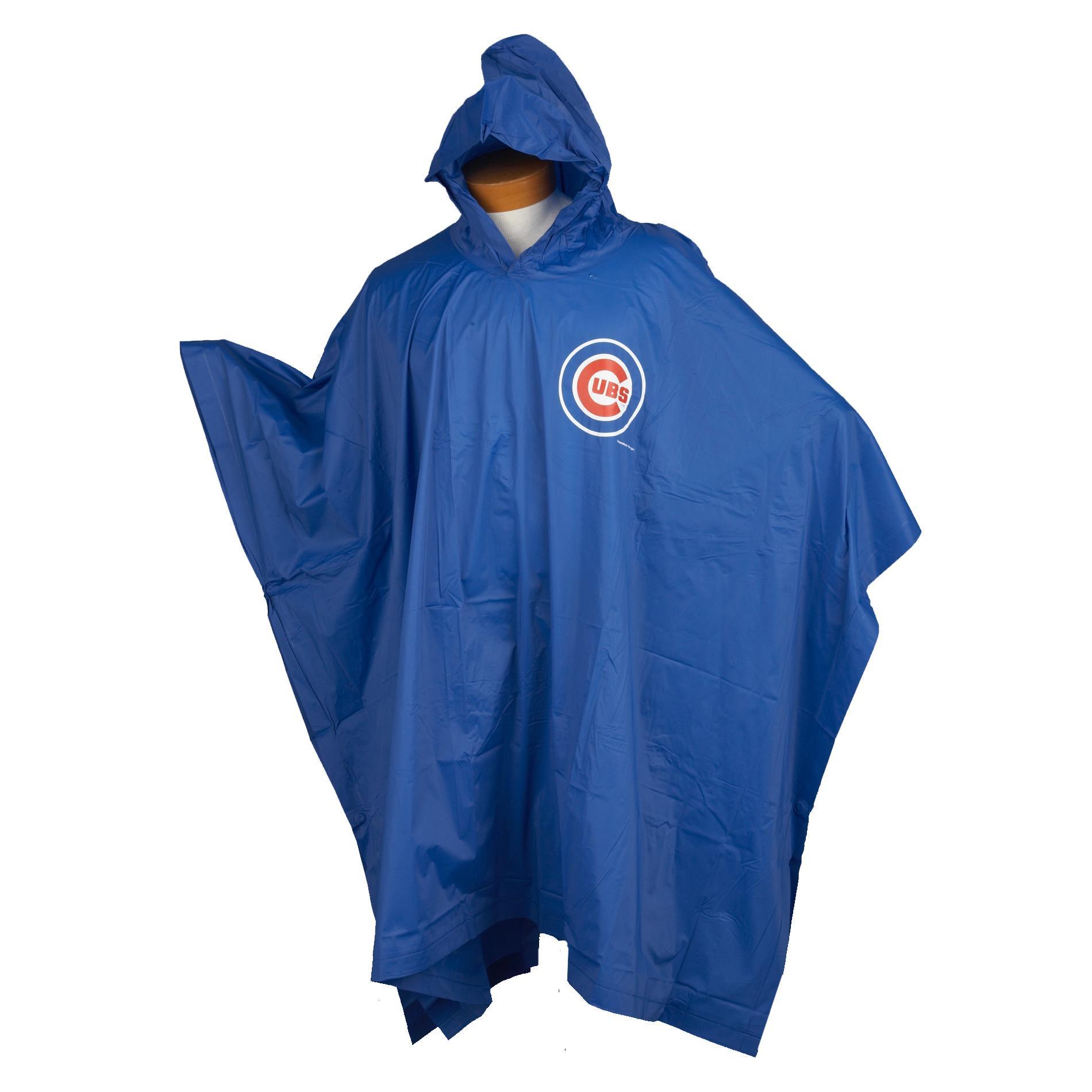 Chicago Cubs 14mm PVC Rain Poncho