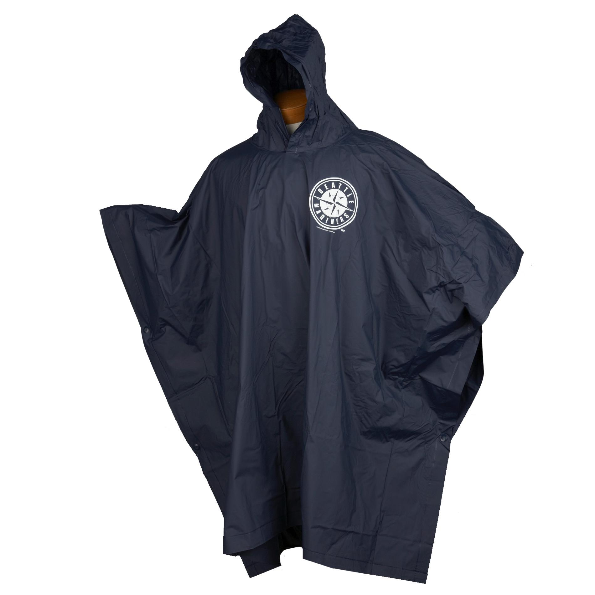 Seattle Mariners 14mm PVC Rain Poncho