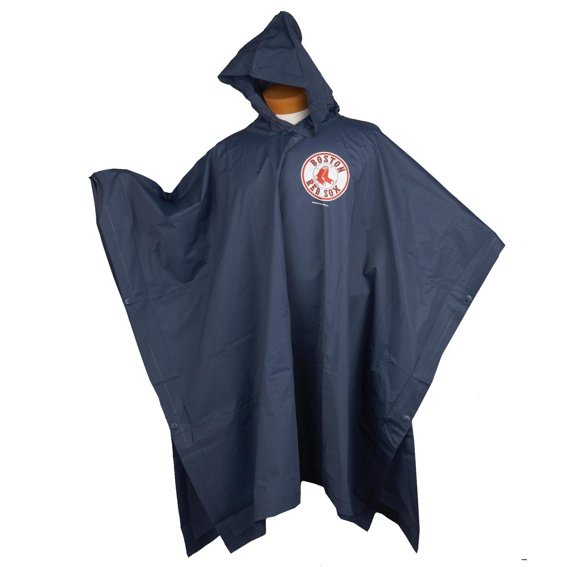 Boston Red Sox 14mm PVC Rain Poncho - Thumbnail 0