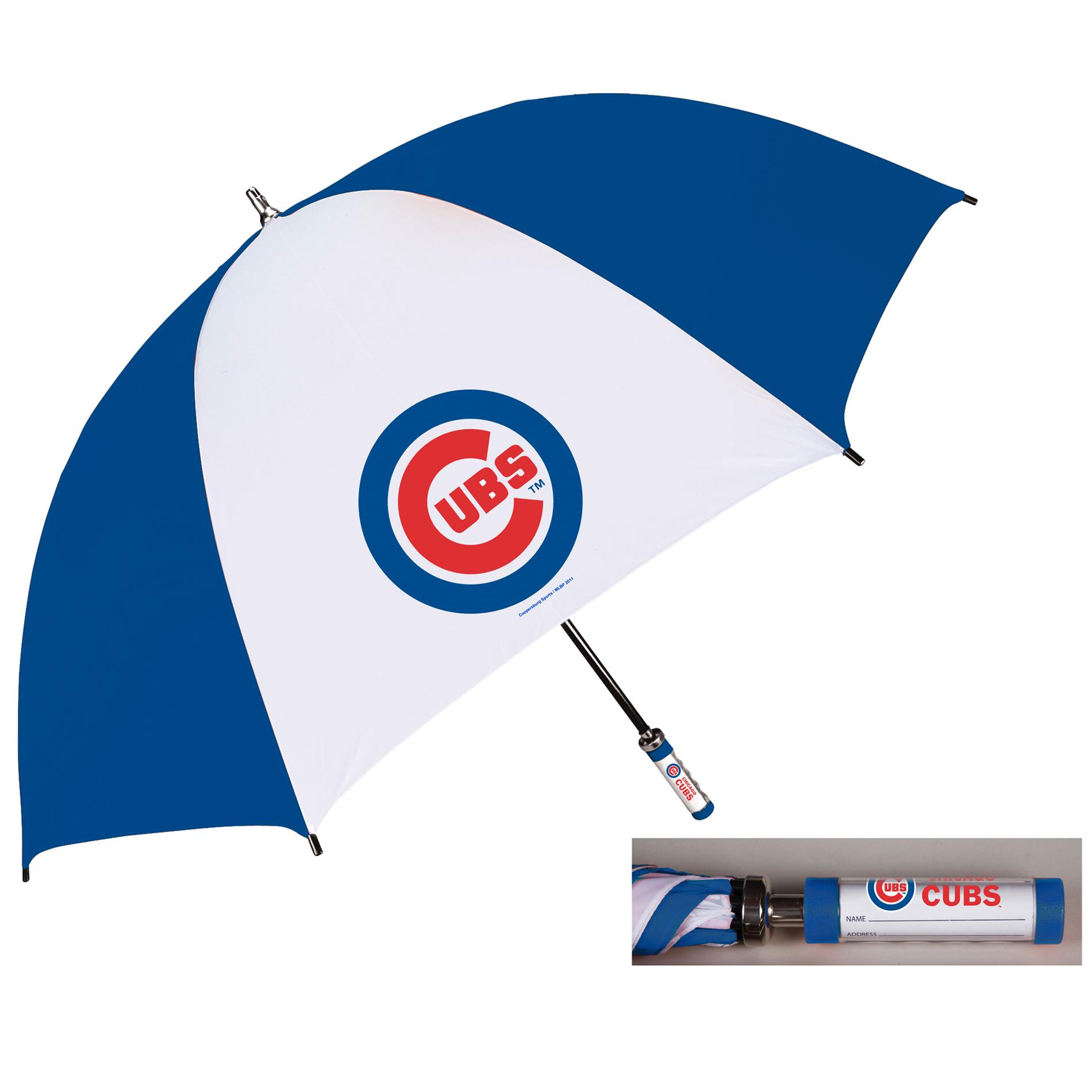 Coopersburg 62 In Chicago Cubs Golf Umbrella Free