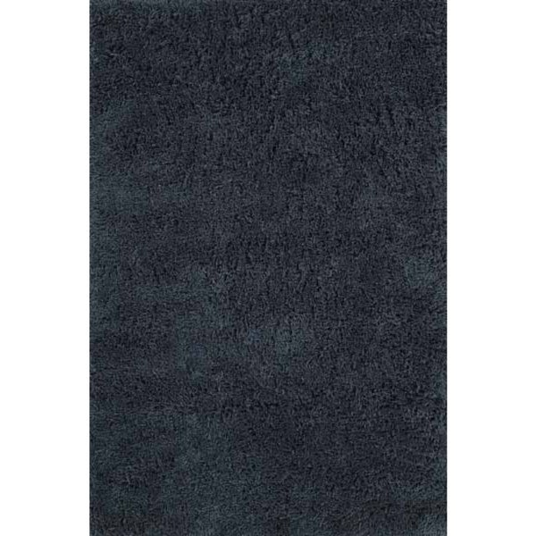 Shaggy Chic Aqua Hand-Tufted Rug (5' x 7')