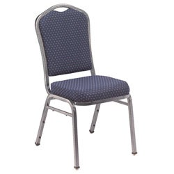 Silhouette Steel and Vinyl Stacking Banquet Chairs (Case of 40)