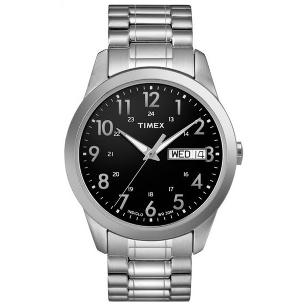 Timex Men's T2M932 Stainless Steel Elevated Classics Expansion Bracelet Watch